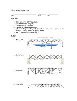 STEM Engineering - West Point BD Bridge Forces Project