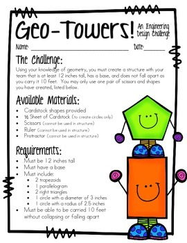 STEM: Engineering a GeoTower