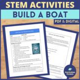 STEM Activities Design Challenge Float Your Boat MS-ETS1-1