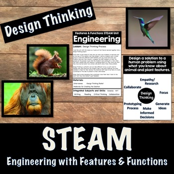 STEM Engineering with Features and Functions (Design Thinking)