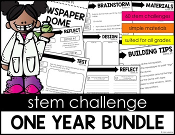 STEM One Year BUNDLE 60 Challenges