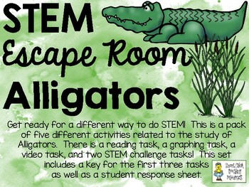 STEM Escape Room - All About Alligators