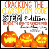 Halloween STEM Escape Room Cracking the Classroom Code™ Lower Elementary