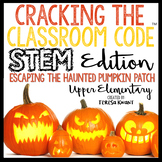 Halloween STEM Escape Room Cracking the Classroom Code™ Up