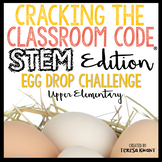 STEM Escape Room Egg Drop Easter Cracking the Classroom Code® Upper Elementary