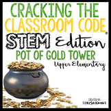 STEM Escape Room St Patrick's Day Cracking the Classroom Code® Upper Elementary