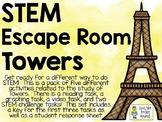 STEM Escape Room - TOWERS