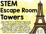 STEM Escape Room - TOWERS