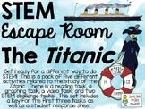 STEM Escape Room - The RMS Titanic