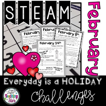 February STEM Challenge: Everyday is a Holiday