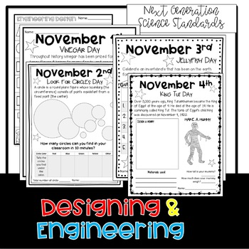November STEM Challenges: Everyday is a Holiday