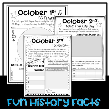 STEM Everyday is a Holiday: October