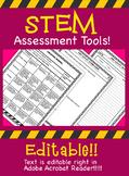 STEM Exit Ticket, Grading Rubric & Score Chart