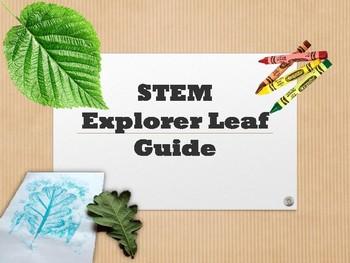STEM Explorers Leaf Guide