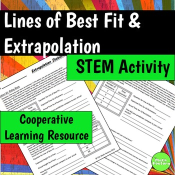 Line of Best Fit Activity Stations