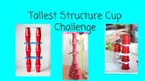 FSL STEM Challenge Card for A1 Learners: Tallest Structure Cup Challenge