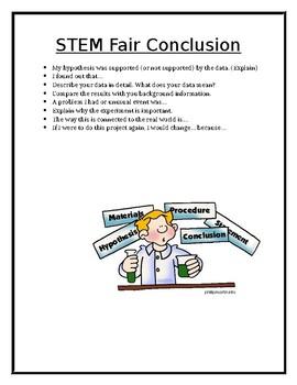STEM Fair Conclusion