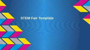 STEM Fair Project PowerPoint Template