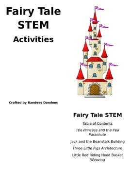 STEM Fairy Tale Activity Packet for Elementary Students