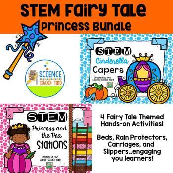STEM Fairy Tale Princess Pack