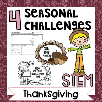 STEM Fall Into Thanksgiving Stations