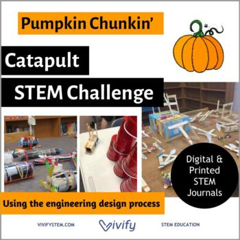 STEM Fall Pumpkin Catapult - Math & Engineering Activity (Angles and Ratios)