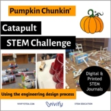 STEM Fall Pumpkin Catapult - Math & Engineering Activity (