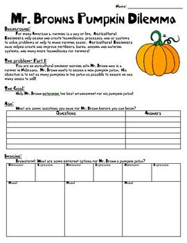 STEM Fall Pumpkin Math Unit