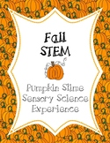 STEM Fall Science Pumpkin Slime Experiment