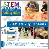 STEM Family Night: Activity Handouts & Posters