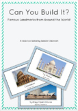 STEM Famous Landmark Construction Cards