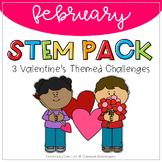 STEM - February Valentine's Themed Challenges