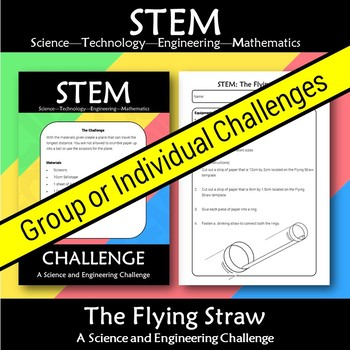 STEM Flying Straw: A Science and Engineering Challenge