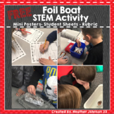 STEM Foil Boat Activity: FREEBIE