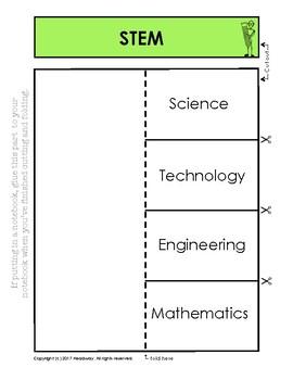 STEM Foldable