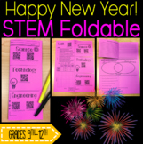 STEM Foldable: New Years Ball Drop