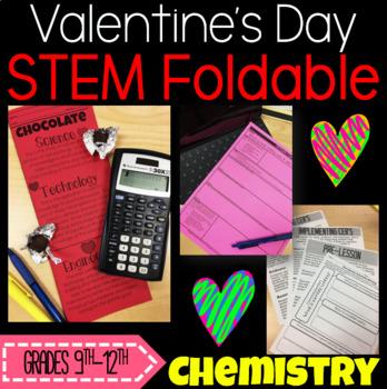 STEM Foldable and CER: Valentine's Chocolate