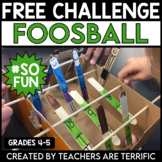 STEM Challenge Foosball FREEBIE