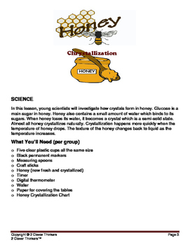 STEM For Young Learners: HONEY