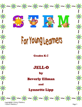 STEM For Young Learners: JELL-O