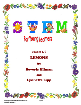 STEM For Young Learners:LEMONS