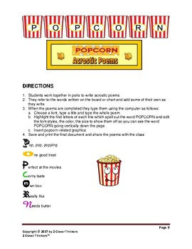 STEM For Young Learners: POPCORN