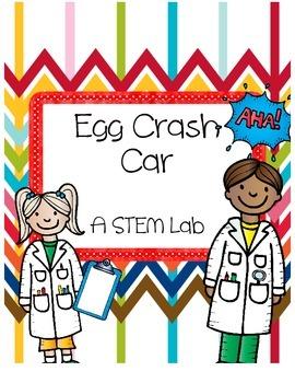 STEM Force & Motion: Egg Crash Car