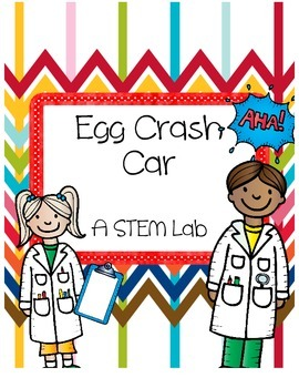 STEM Force & Motion: Egg Crash Car