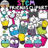 STEM Friends Clipart {STEM Clipart}