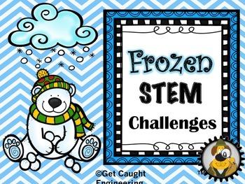 STEM Frozen Challenges: Frosty Freezey Engineering