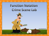 STEM Function Notation Crime Scene Lab