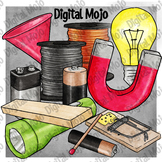 STEM Garage Supplies Clipart