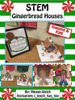 STEM Gingerbread Houses
