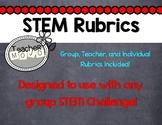 STEM Group Performance Rubrics (Printable)
